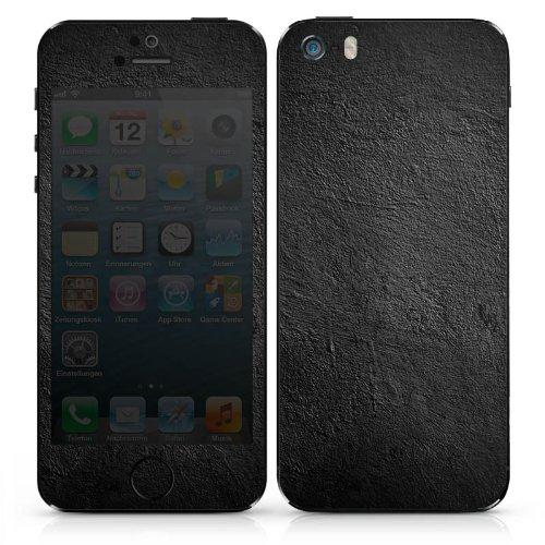 Apple iPhone 3Gs Case Skin Sticker aus Vinyl-Folie Aufkleber Beton Wand Struktur DesignSkins® glänzend