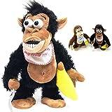 Designgearint® Crazy Monkey Interactive Soft Toy \