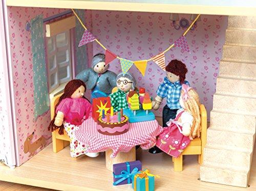 Le Toy Van ME081Daisylane party-time bambole confezione