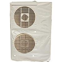 LiféUP Funda para Aire Acondicionado, Unidad Exterior Banda Elástica Protectora Resistente Al Sol(92 * 135 * 34 cm