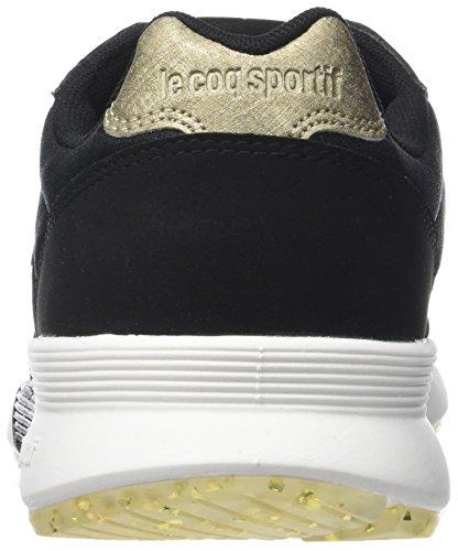 Le Coq Sportif Omega X W Metallic, Sneaker Donna Nero