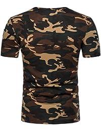 Cinnamou Los hombres Tops de moda adelgazan el cuello en V camiseta estampada del African dashiki Graphic camiseta Tops casuales blusa 4U90WTTlg
