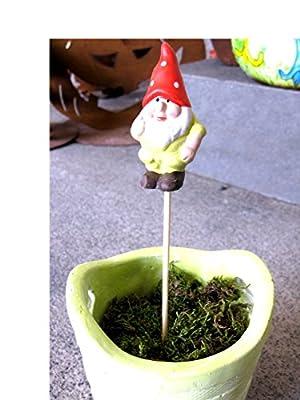 Zwerg Bladuin Blumentopfstecker von TuEs! bei Du und dein Garten