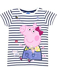 Peppa Pig Girls T-Shirt Ages 18 Months To 8 Years