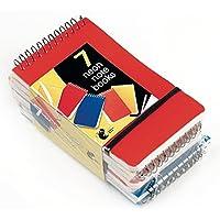 Neon Notebooks small 7pk by Chiltern Wove