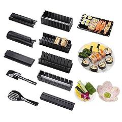 Idea Regalo - Bollitore per sushi set set riso rotolo cucina fai da te facile master rullo