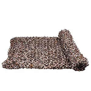 WZHCAMOUFLAGENET Desert Mode Camouflage Net Camping Versteckte Sonnencreme Net Auto Tarnung Multi-Size Optional