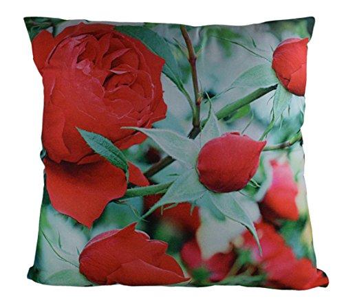 Fleurs haute résolution images imprimées photo haute qualité double face Coussin housse 45 cm x 45 cm/18 x 18 pouces (CCFLOWER09)