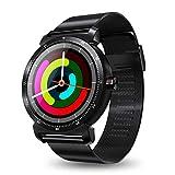 DUMXY DUMXY Smartwatch, Multifunktions-Sportuhren Bluetooth Elektronische Uhr, 3D Geschnitzter Radian-Touchscreen, wasserdichte Uhr Für Android Und IOS