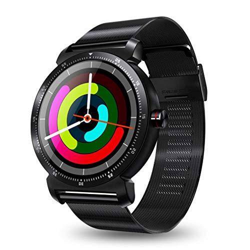 DWEMM Smartwatch, Multifunktions-Sportuhren Bluetooth Elektronische Uhr, 3D Geschnitzter Radian-Touchscreen, wasserdichte Uhr Für Android Und IOS -