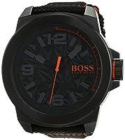 Hugo Boss Orange - Reloj análogico de cuarzo con correa de nailon para hombre - 1513343 de BOSS Orange