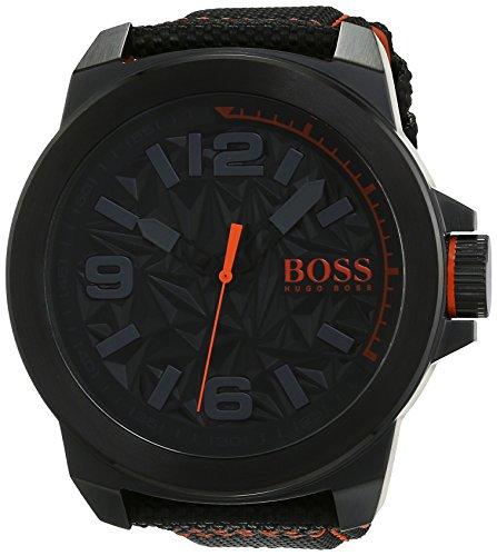 Hugo Boss Orange - Reloj análogico de cuarzo con correa de nailon para hombre - 1513343