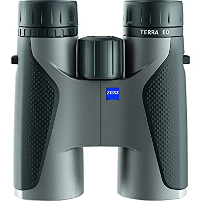 Zeiss Terra ED 10x 42Binoculars, Grey/Black