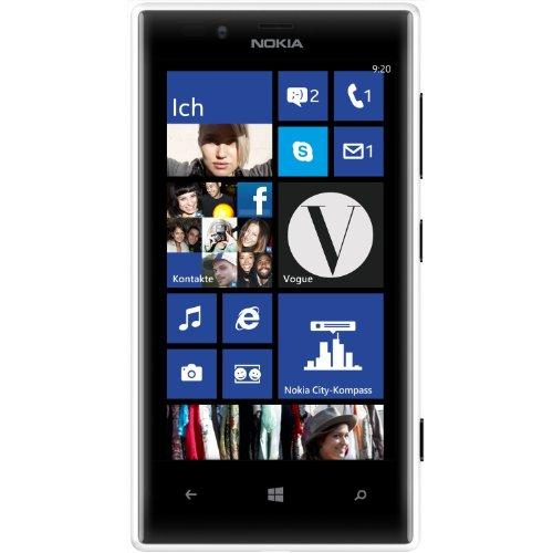 Nokia Lumia 720 Windows (Nokia Lumia 720 Smartphone (4,3 Zoll (10,9 cm) Touch-Display, 8 GB Speicher, Windows 8) weiß)