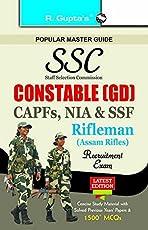 SSC Constable (GD): CAPFs (ITBPF/CISF/CRPF/BSF/SSB), NIA, SSF & Rifleman (Assam Rifles)
