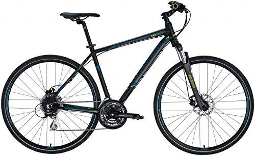 Genesis Cross-Bike Speed Cross Sx-30 28 Herren - schwarz matt, Größe:46