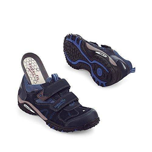 Superfit , Chaussures de ville à lacets pour garçon Ocean Kombi