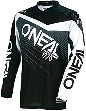 Casacca Mx Oneal 2018 Element Racewear Nero-Grigio (S , Nero)
