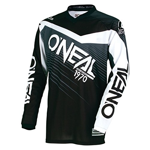 Casacca MX Oneal 2018 Element Racewear Nero-Grigio Nero