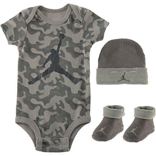 Jordan Kinder Strampler grün 62 (Sets Nike Jungen Kinder)