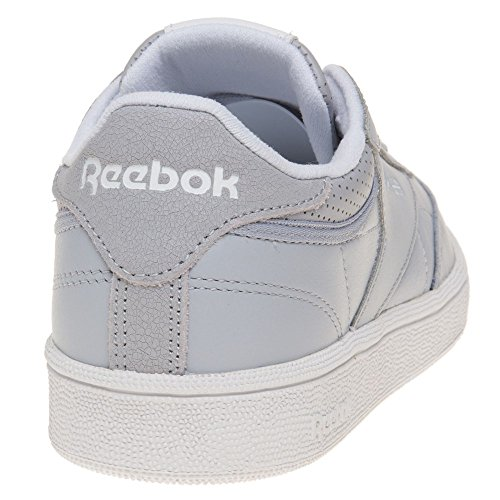 Reebok Club C 85 Fbt, Chaussures de Running Femme, Rose Multicolore (Cloud Grey/white/silver Met/skull Grey)