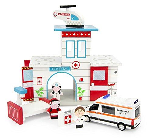 Leomark Hospital De Madera Ambulancia Mercedes Hospital