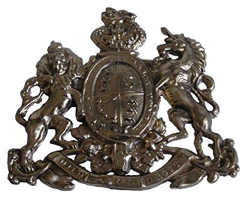 Messing Segen, antik-Stil, Messing Heavy Cast Royal Crest Safe Teller–Best Collection (5125)