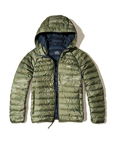 hollister-giacca-piumino-basic-maniche-corte-uomo-mimetico-medium