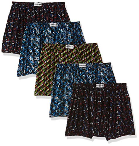 Rupa Frontline Men's Solid Trunks (Pack of 5) (RVBMMRTPRDP515080_Assorted-80 Cm)(Colors & Print May Vary)