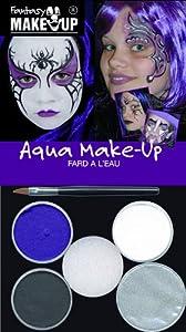 Fantasy - Pintura Facial Halloween Unisex a Partir de 3 años (37087)