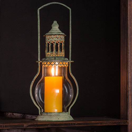 Antik Stil Laterne (Antikas - Wundervoller Kerzenhalter, Laterne im shabby-stil, Windlicht im Vintage- Look)