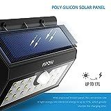Mpow 20 LED Solar Lights Motion Sensor Security Light, 3-in-1 Wireless Weatherproof Security Solar Light Motion Sensor Lamp (3 Intelligent Modes, Black) Bild 2