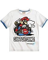 Super Mario Bros. Tshirt, weiß, Gr. 104-140