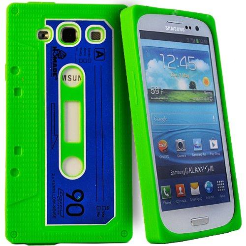 Accessory Master Silikon kassette Schutzhülle für Samsung Galaxy S3 i9300 grün