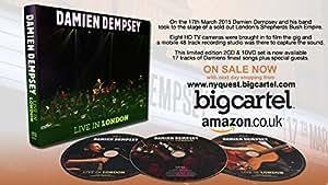 Damien Dempsey Live In London Triple Disc CD/DVD