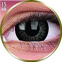 Kontaktlinsen schwarzen die skalieren der Blick–ohne Stärke–Einheitsgröße