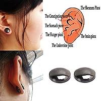 Autone Boucles D'Oreilles 1Paire de Perte de Poids Saine Stimulant Acupoints à Tige Thérapie magnétique