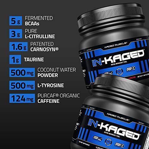 Kaged Muscle - En-conditionné Intra-Workout carburant pastèque - 11.97 once. 4