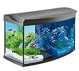 Tetra AquaArt Discovery Line LED Aquarium-Komplett-Set mit LED-Beleuchtung, Tag- und Nachtlichtschaltung, EasyCrystal Innenfilter und Aquarienheizer