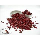Berberitzen getrocknet, ungezuckert und ungeschwefelt 250g von Schmütz-Naturkost, Trockenfrüchte