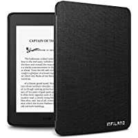 Infiland Case for Kindle Paperwhite (10th Generation-2018 Release), Thinnest and Lightest Cover Compatible with Amazon Kindle Paperwhite 2018 Release(Auto Sleep/Wake Function),Black