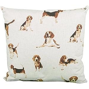 Kissen Quadrat Beagle Hund (11440)