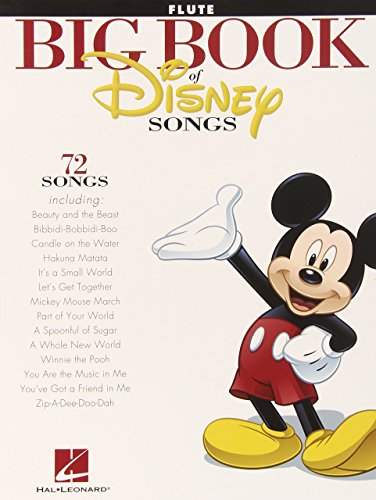 The Big Book Of Disney Songs - Flute by Various (21-Mar-2012) Paperback