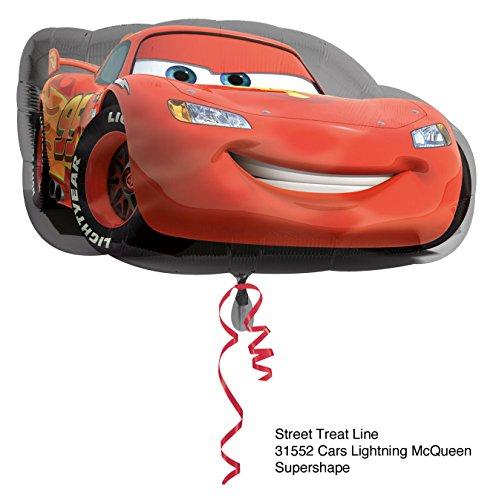 Ballonim Cars Lightning McQueen ca.55cm Luftballons Folienballon Party DekorationGeburtstag