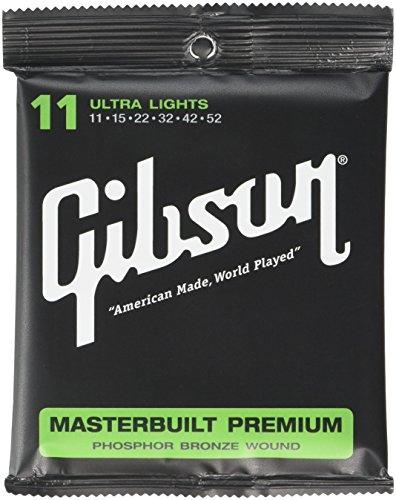 Gibson Gear SAG-MB11 Masterbuilt Premium Saiten .011 - .052