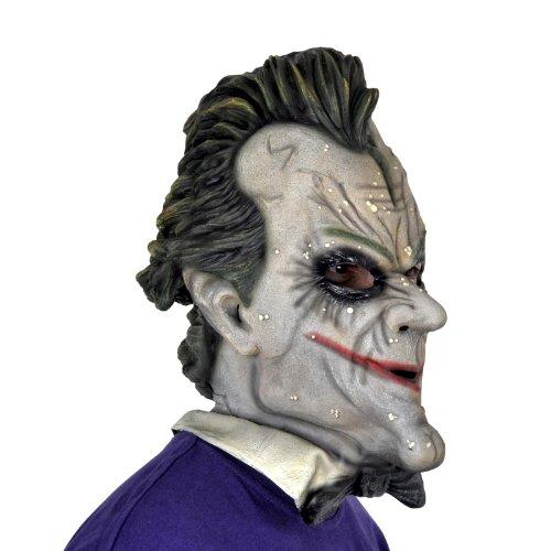 Batman Arkham City Joker Deluxe Vollmaske Latex hochwertig und täuschend echt