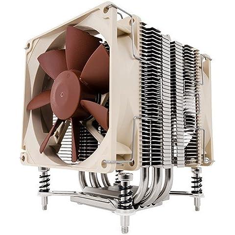 Noctua NH-U9DX i4 - Ventilador de PC (Procesador, Enfriador, Socket B2 (LGA 1356), Socket B (LGA 1366), Socket R (LGA 2011), 92 x 92 x 25 mm, 95 x 71 x 125 mm, Aluminio, Cobre, Níquel)