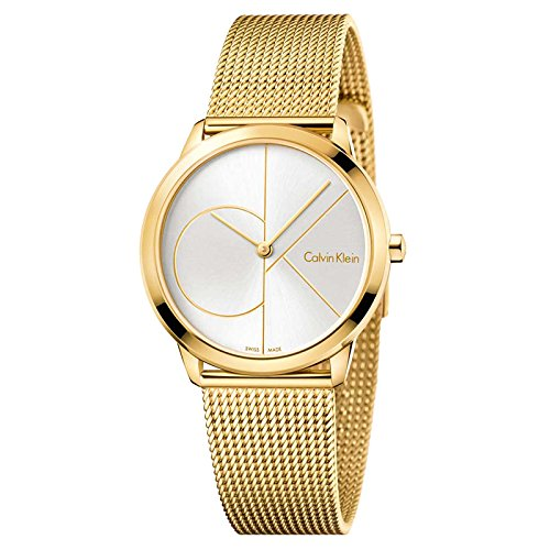 Calvin Klein Women's Analogue Quartz Watch with Stainless Steel Strap K3M22526