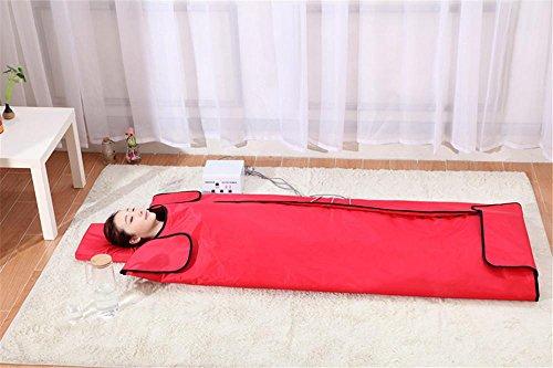 Far Infrarot-Therapie Sauna Decke, Khan Dampf Entgiftung Beauty-Pad, Minus Der Körper Überschüssiges Fett, Entlasten Sie Körperliche Müdigkeit , 001 (Dampf-infrarot-sauna)