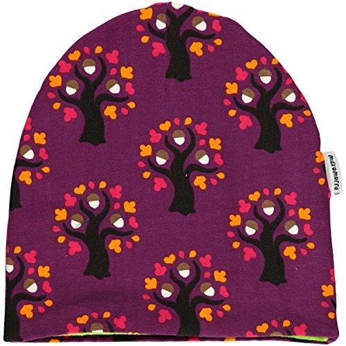 Maxomorra Hat Velour OAK TREE 56/58